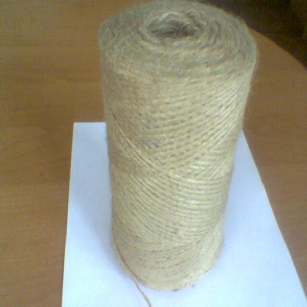 Шпагат джутовый полированный ф 2,5мм (кг)