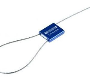 Тросова пломба ЗПУ довжина 300 мм, діаметр 0,9 мм