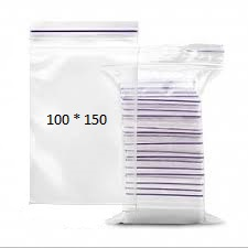 Пакеты с замком Zip-Lock 100*150 мм - цена 26,73 грн./упаковка