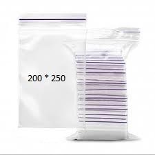 Пакеты с замком Zip-Lock 200*250 мм/упаковка