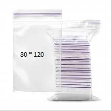 Пакеты с замком Zip-Lock 80*120 мм/упаковка