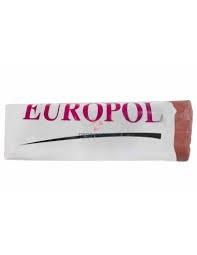 Паста полировальная коричневая для нержавеющей стали Europol (1000 г)
