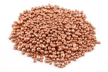 Медь PANDORA 99,99% в гранулах бескислородная (упаковка 100г)