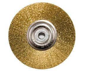 Щітка латунна UTG d-50 мм (JOTA 8108.50) на металевому диску