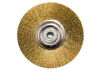 Щетка латунная UTG d-50 мм (JOTA 8108.50) на металлическом диске