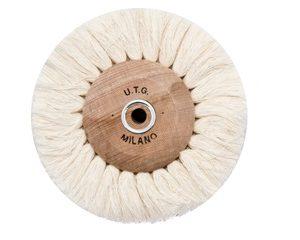 Щітка нитяним UTG d-80 мм (54500 M80) на дерев'яному диску