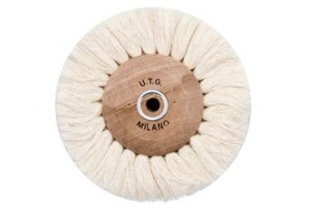 Щітка нитяним UTG d-100 мм (54500 M100) на дерев'яному диску
