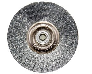 Щітка сталева UTG d-50 мм (JOTA 6310.50) на металевому диску