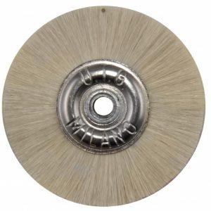 Щітка волосяна UTG середньої жорсткості, d-50 мм (JOTA 3100.50) на металевому диску
