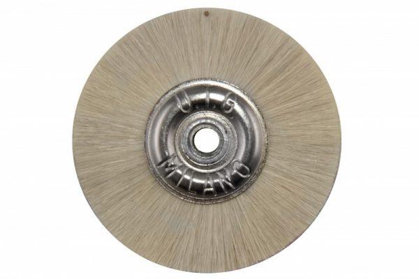 Щетка волосяная UTG средней жесткости, d-50 мм (JOTA 3100.50) на металлическом диске