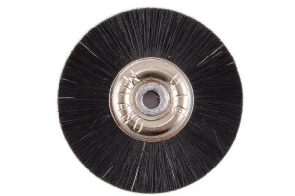 Щетка волосяная UTG жесткая, d-50 мм (JOTA 2100.50) на металлическом диске