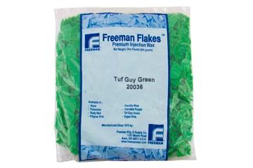 """Віск FREEMAN зелений """"Tuffy Green"""" (лусочки, 454 г)"""
