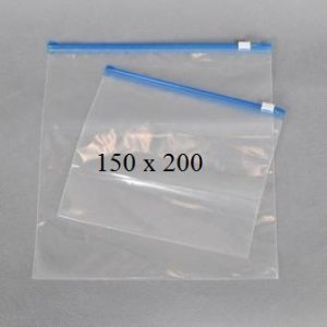 Пакет с замком слайдером (бегунком) 150 х 200 мм, пакеты для заморозки