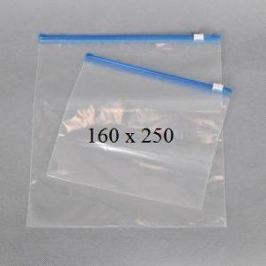 Пакет із замком слайдером (бегунком) 160 х 250 мм, пакети для заморозки