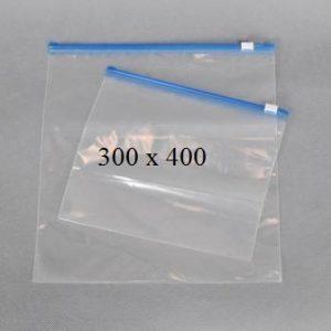 Пакет із замком слайдером (бегунком) 300 х 400 мм, пакети для заморозки