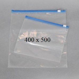 Пакет із замком слайдером (бегунком) 400 х 500 мм, пакети для заморозки