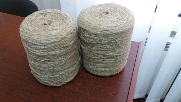 Шпагат льно - прядив'яний, однонитковий, армований і не армований