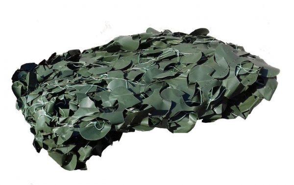 """Сітка маскувальна Pro """"Темно-зеленая"""" 2*6м"""